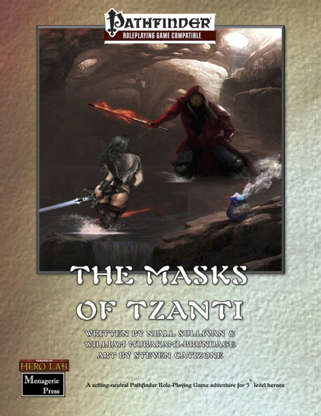 Masks of Tzanti Cover